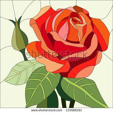 Витражная роза - красочный декор для потолков в современном и классическом стилях