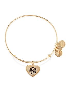 Boutique dos Relógios | Produtos | Joalharia / Bijoutaria | Alex and Ani | A&A Path of Life heart GldBrac