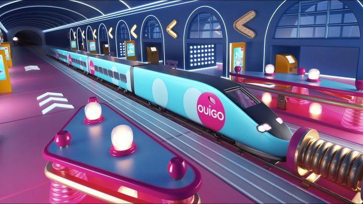 Nouvelle campagne #OuigoLetsGo signée Rosapark.