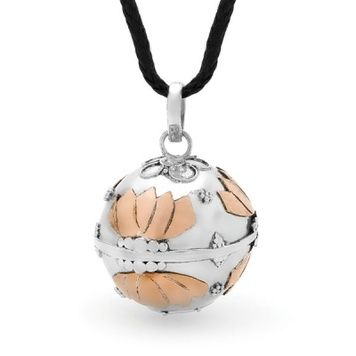 Harmony Ball - COPPER LOTUS - Bella Donna Sterling Silver and Copper