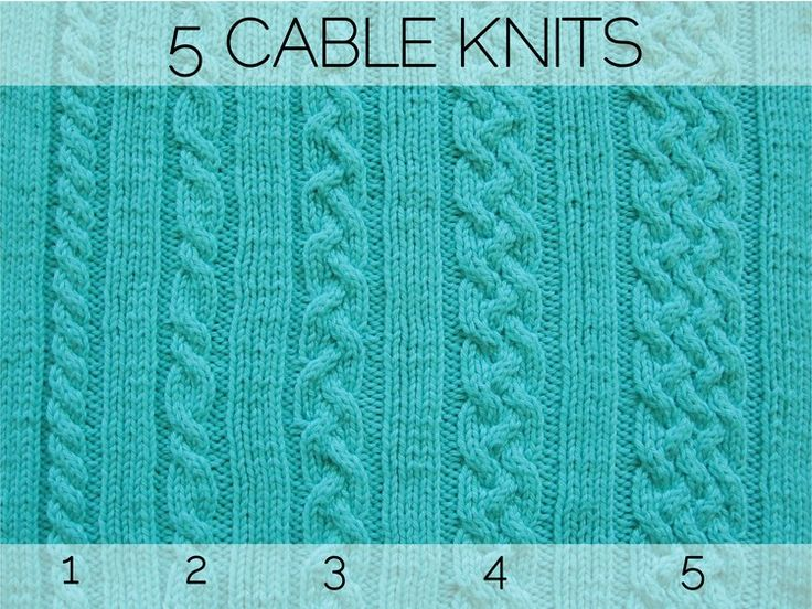 Five Cable Knits - How Did You Make This? | Luxe DIY