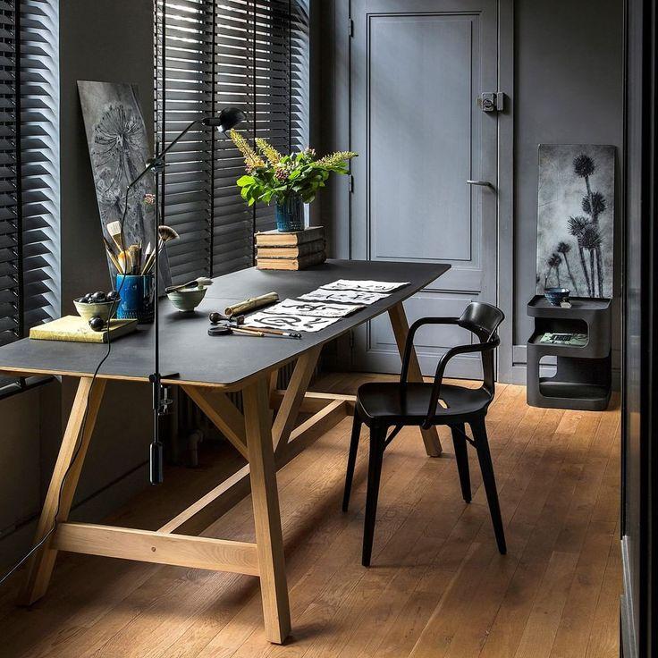 am pm on instagram cr er son propre coin bureau. Black Bedroom Furniture Sets. Home Design Ideas