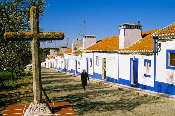 Santa Susana. Traditional village in Alentejo. Portugal