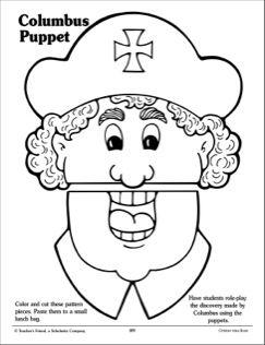 Columbus Puppet: Pattern