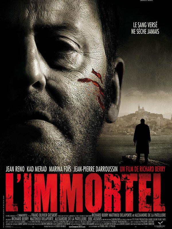 L'Immortel est un film français réalisé par Richard Berry sur la vie romancée de Jacky Imbert sorti le 24 mars 2010, mettant en vedette Jean Reno, Kad Merad, Richard Berry, Marina Foïs. Le scénario est basé sur le roman L'Immortel de Franz-Olivier Giesbert. Wikipédia (TV5 / Nov. 2014)