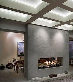 venetian plaster fireplace - Google Search