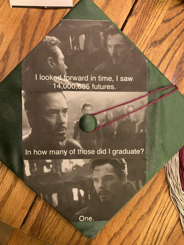 Marvel Fan's Avengers Twist on Graduation Cap Goes Viral