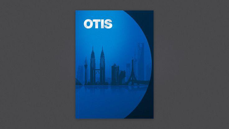 TFA Marketing (Milton Keynes) - Otis | Corporate Brochure Design | TFA
