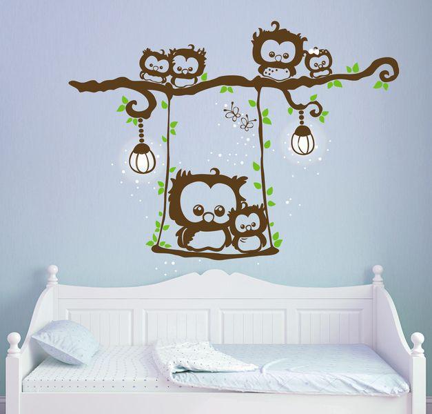 25 einzigartige wandtattoo eule ideen auf pinterest eulen silhouette fensteraufkleber und. Black Bedroom Furniture Sets. Home Design Ideas