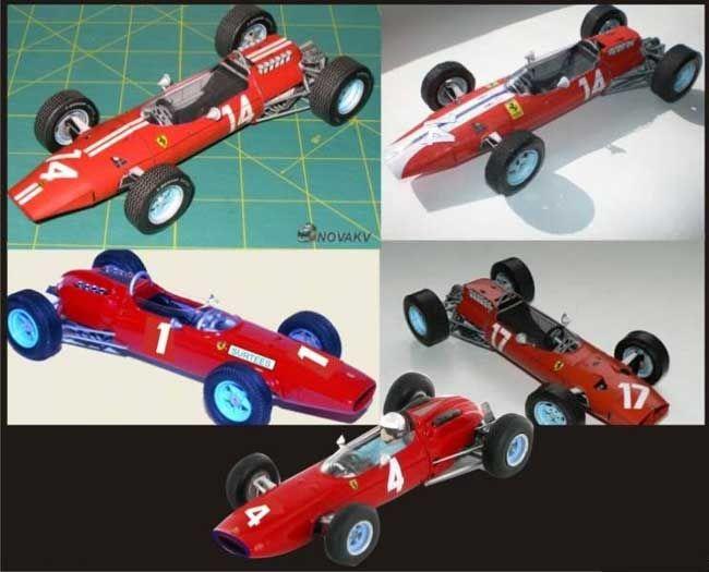 f1 paper model