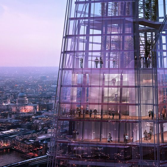 Make sure you plan a visit to The Shard's spectacular viewing platform when it opens in February 2013.