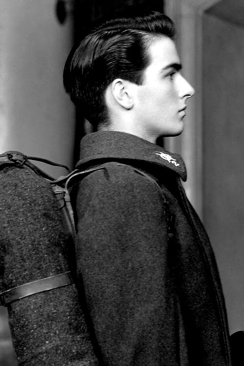 Montgomery Clift in the play, There Shall Be No Night, 1940