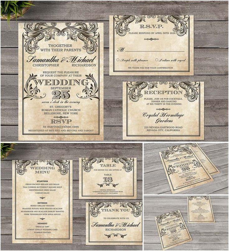 photoshop wedding invitation templates