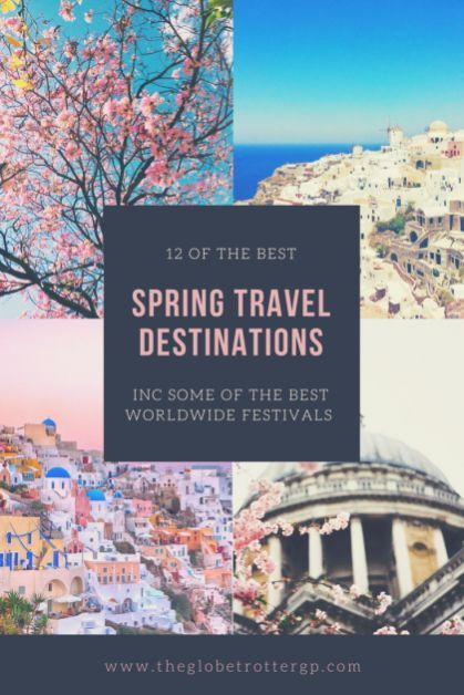 12 of the Best destinations for travel in Spring! Planning a Holiday in Spring but not sure where to go? Gert some travel inspiration for beautiful places to visit in Spring. From adventure and festivals to the best places to see cherry blossom. Beat the crowds, travel cheap. Destinations to inspire wanderlust! #travel