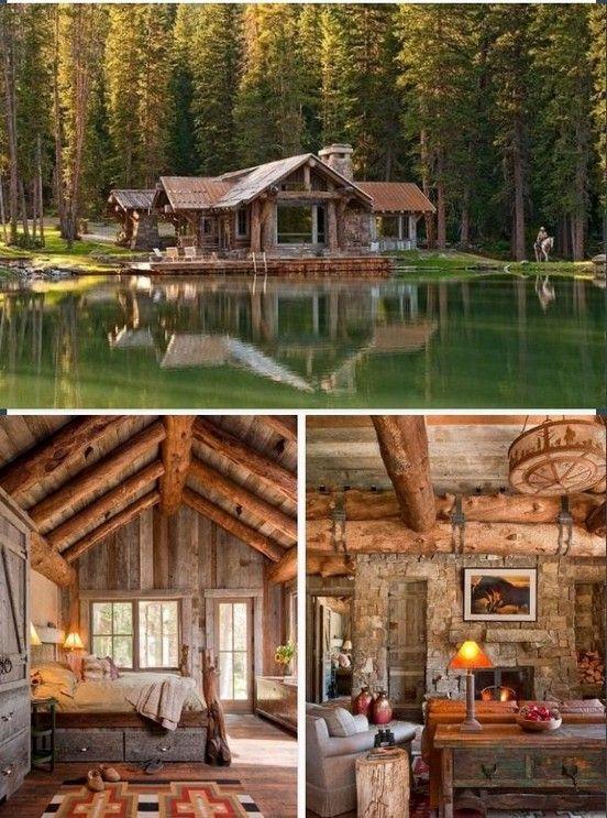 45 small log cabin homes ideas 38