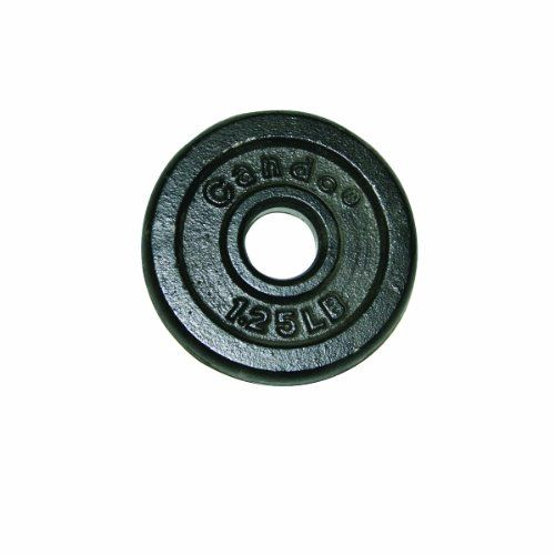 CanDo 10-0600 Iron Disc Weight Plate,…