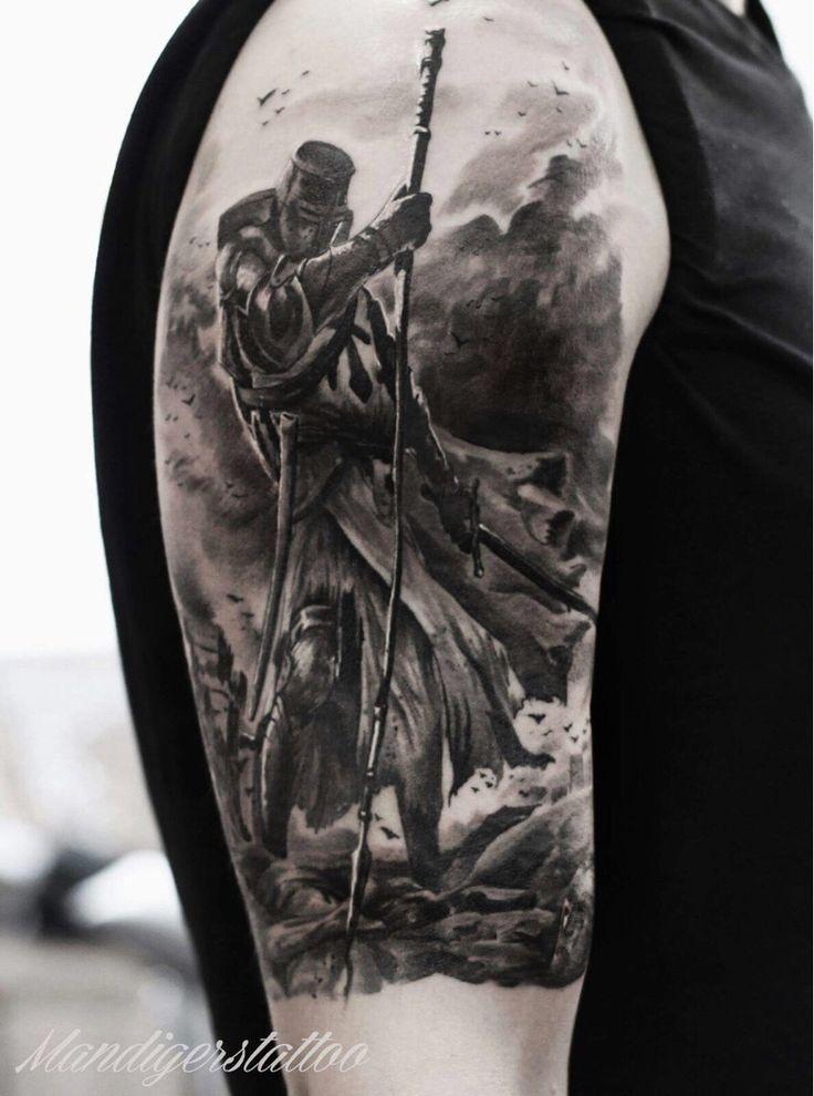 Fresh Knight Templar by Guus Mandigers (TattoJoey) Holland