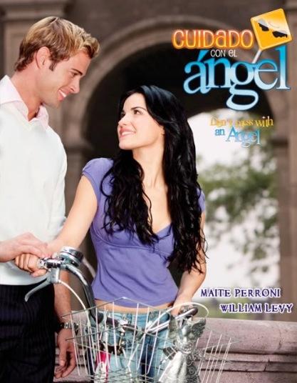 Cuidado con el angel - my favorite novela.  Estos dos juntos....que linda pareja :)