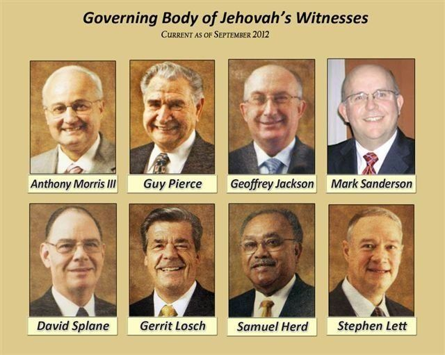 Governing Body-easy way to remember their names .... I HERD JACKSON SPLANE to MORRIS not to LETT SANDERSON PIERCE LOSCH