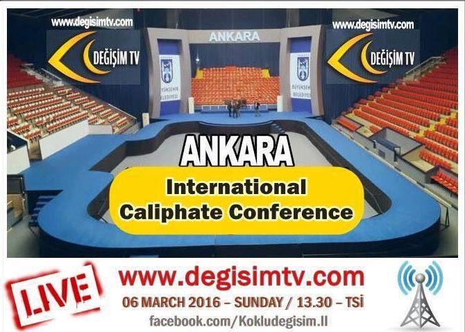 Διεθνές συνέδριο τζιχαντιστών στην Άγκυρα και δεν τρέχει… τίποτα!