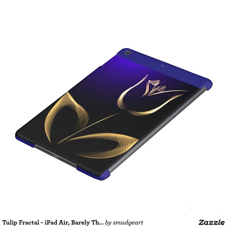 Tulip Fractal - iPad Air, Barely There cover Case For iPad Air
