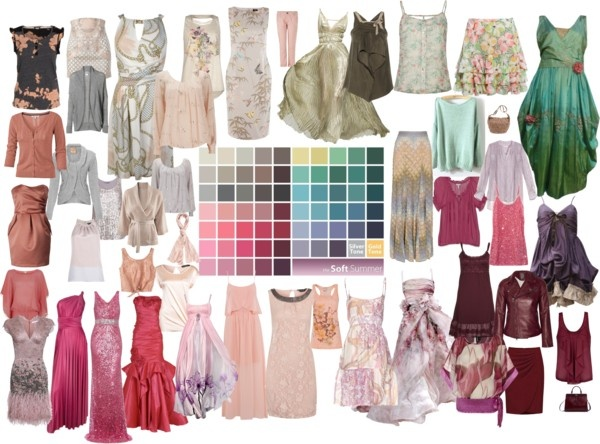 """""""Soft Summer color palette 3"""" by blueskies22 ❤ liked on Polyvore"""