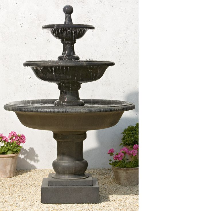 8 best {3 Tier Garden Fountains} images on Pinterest | Garden ...