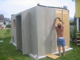 gertehaus selber bauen perfect das fundament fr das. Black Bedroom Furniture Sets. Home Design Ideas