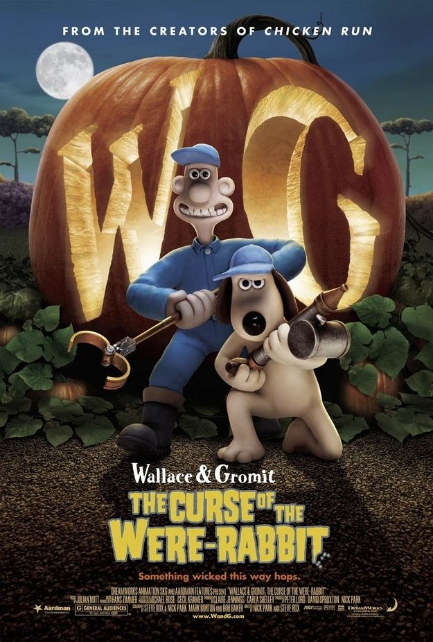 Wallace & Gromit: The Curse of the Were-Rabbit (2005) | 20 Movies To Watch With Your Kids This Halloween