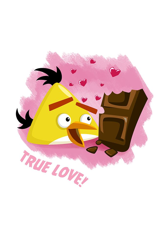 angry birds valentine's day cards printable