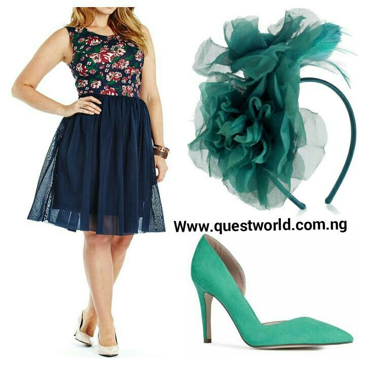 Accessorize! #fascinator #dress #shoes Nationwide Delivery. Pay on delivery within Lagos. Www.questworld.com.ng