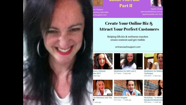 Online Coach Support Chats with Agnes about YouTube Basic Tips