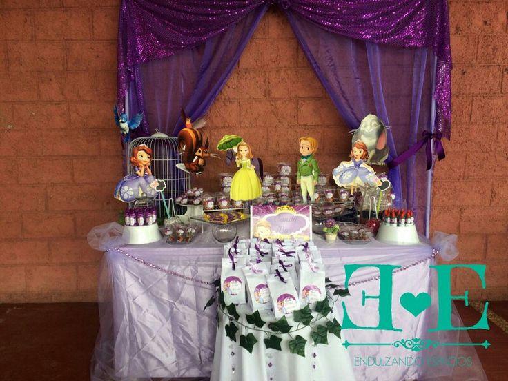 #PrincesitaSofia #Princess #Sweet #CandyBar #Endulzate #Cumpleaños #EndulzandoEspacios