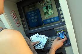 D'où vient le distributeur automatique de billets ?