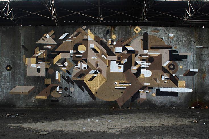 Neli0 - Modern French Graffiti 4 • TheCoolist - The Modern Design Lifestyle Magazine