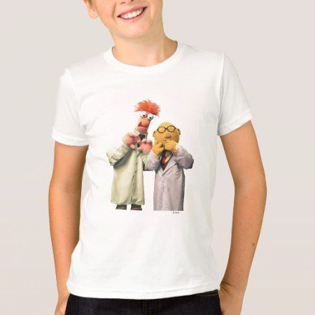 Dr. Bunsen Honeydew and Beaker T-Shirt - click/tap to personalize and buy