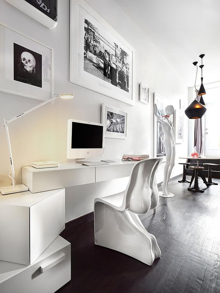 Best 25+ Modern home offices ideas on Pinterest | Modern home office desk,  Modern study rooms and Small office spaces