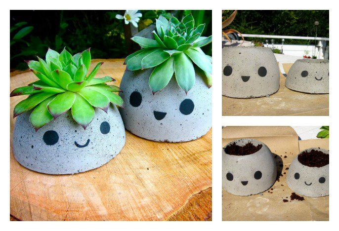 Planters are wonderful addition to your outdoor setting. Do you want to save some money?The solution is to make your own Concrete Planter.