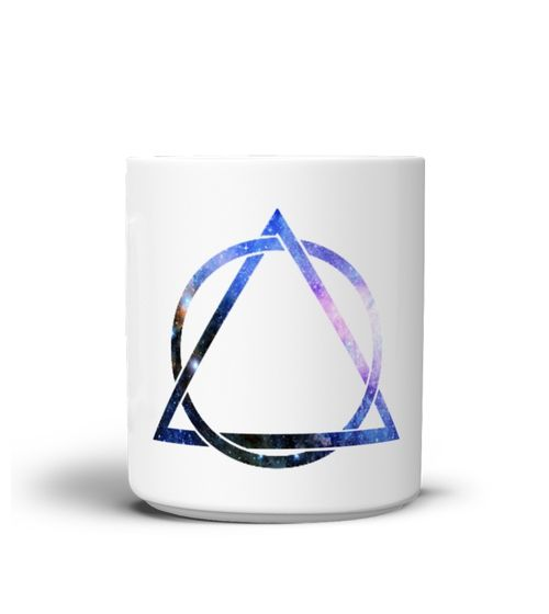 Hipster Triangle Circle MUG (*Partner Link)