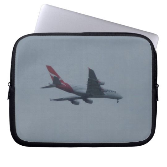 #zazzle  #Neoprene #Laptop #Sleeve #10 inch #office #home #travel #gift #giftide #Landing #Aircraft