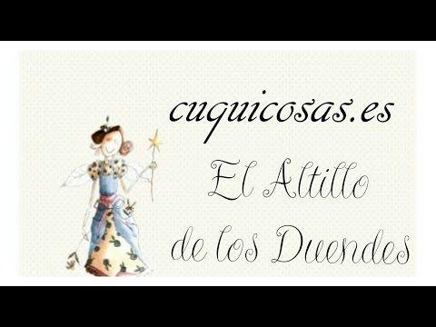 Tutorial Scrapbook Inspiración con Altillo de los duendes - YouTube