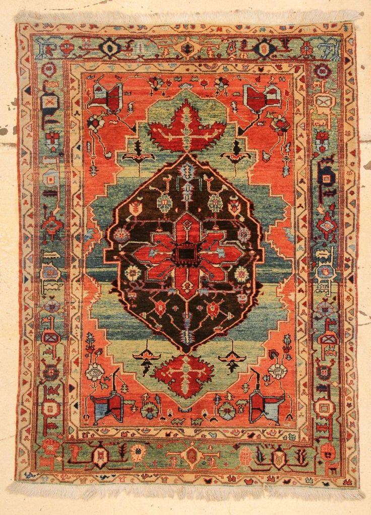 Azeri Rug Turkey Late 20th Century