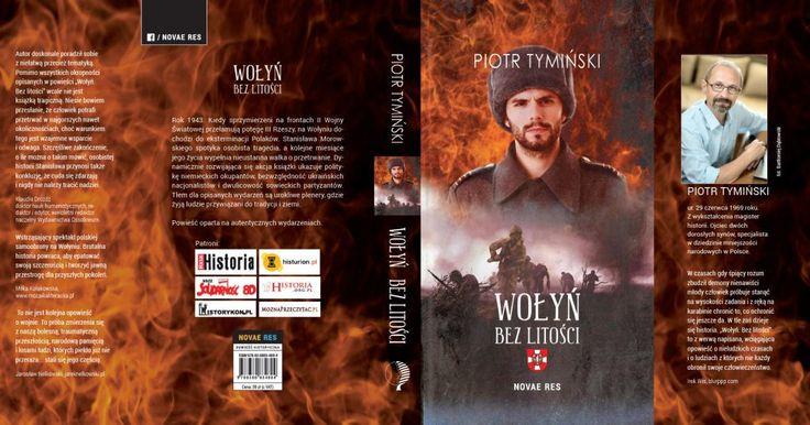 """Jest nam niezwykle miło poinformować, że objęliśmy patronatem szczególną powieść historyczną,  opartą na autentycznych wydarzeniach jakie wystąpiły w tragicznym momencie relacji polsko-ukraińskich. Przedstawiamy Wam książkę Piotra Tymińskiego - """"Wołyń. Bez litości"""".    http://moznaprzeczytac.pl/wolyn-bez-litosci-patronat-moznaprzeczytac-pl/"""