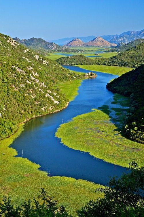 Rijeka Crnojevica, Lake Skadar, Montenegro  ( by Europe Trotter)