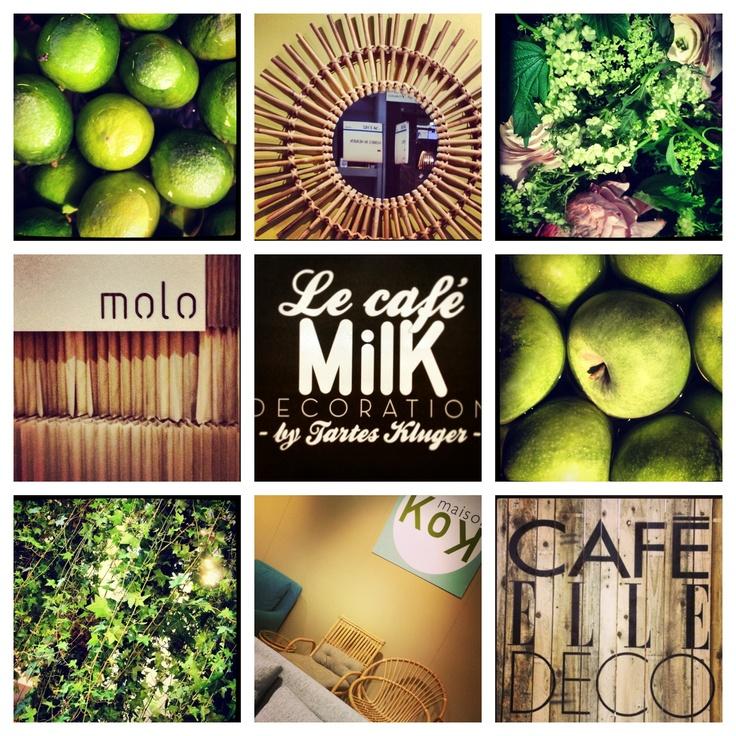 CAFE MILK ELLE DECO FRUITS