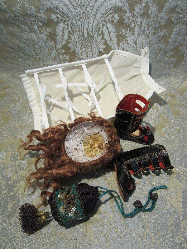 Мастер-класс по шить турнюра для антикварной или современной куклы. - ...кукольно-игрушечный мир Маргариты Че...