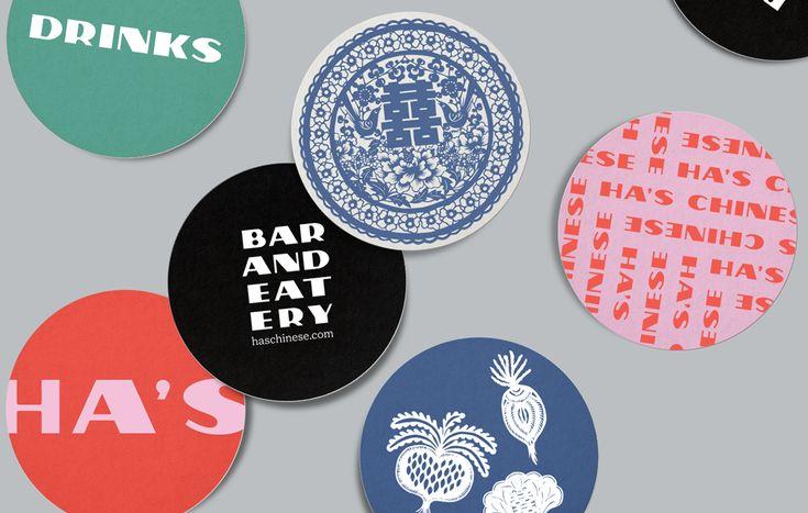 Pin By Lauren Ewings On Identity Branding Chinese Branding Chinese Bar Sticker Design
