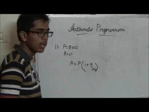 Kids Maths - CBSE Xth Maths - Arithmetic Progression
