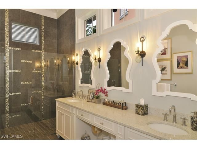 Simple Private Residence Naples Florida  Mediterranean  Bathroom  Other