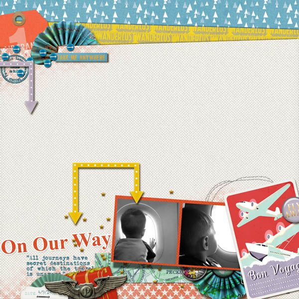 On Our Way -  Wanderlust by The Nifty Pixel Wanderlust Baggage Tags by the Nifty Pixel Hearts a Flutter Vol. 1 by The Nifty Pixel